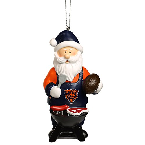 NFL Santa Grill Ornament-Chicago Bears