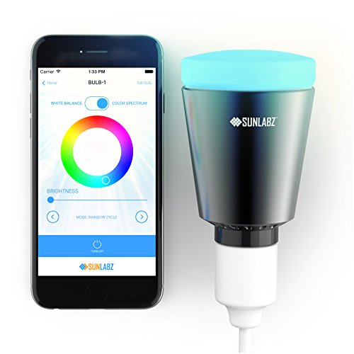 sunlabz-bluetooth-smart-light-smartphone-controlled-color-changing-dimmable-led-bulb-that-works-with