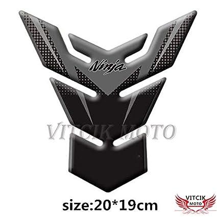 VITCIK Protector de depósito para Moto 3D protección de ...