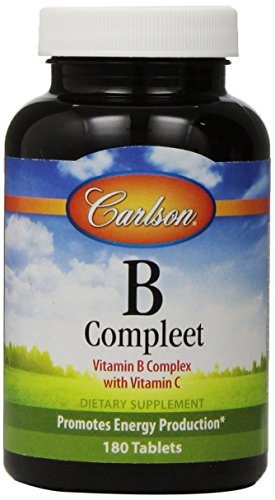 Carlson B Compleet Vitamin Complete Tablets