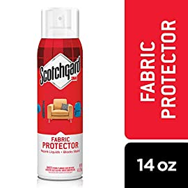 Scotchgard Upholstery and Fabric Protector 10 Repels liquids and blocks stains Strong protection pushes spills away from fabric fibers so stains release easily Won't change the Look, feel or breathability of fabrics