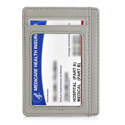 6 Pack New Medicare Card Holder Protector Sleeves 12mil Clear Pvc