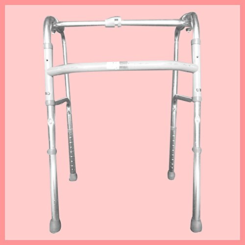 Walking Aid Aluminum Alloy Folding Elderly Disabled Hand Tools Walker By Walker Is Adjustable by jiaminmin