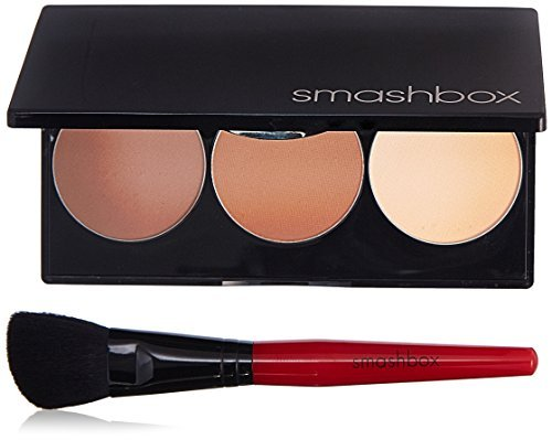 Smashbox Step By Step Contour Kit with Light/Medium Brush