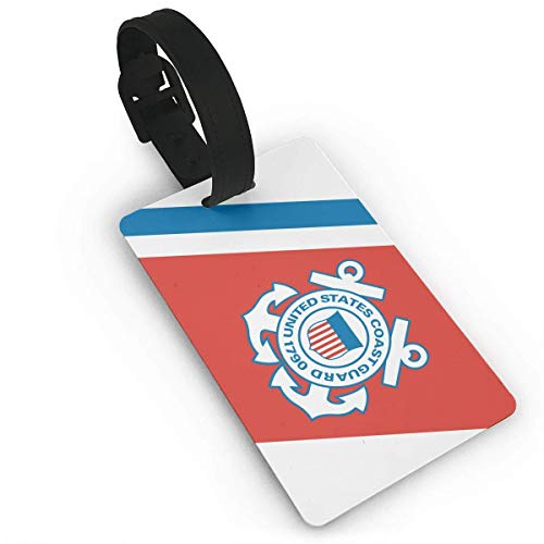 CURdfehgkde US Coast Guard Sign Luggage Tag Suitcase Labels Bag Travel Accessories ID Cards for Luggage Baggage Travel Identifier Luggage Tag