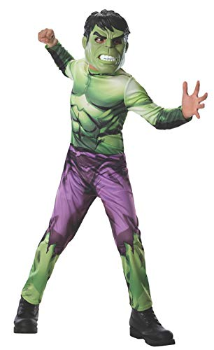 Rubies Marvel Universe Classic Collection Avengers Assemble Incredible Hulk Costume, Child (Red Hulk Costumes)