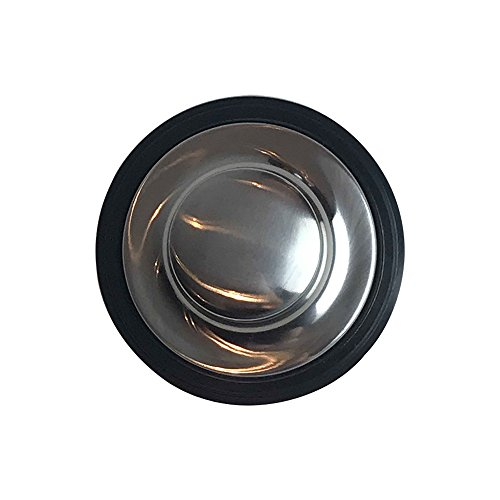 Think Crucial Replacement for InSinkErator Stainless Steel Sink Stopper With Rubber Gasket, Fits Garbage Disposals, Compatible With Part # STP-SS by Think Crucial