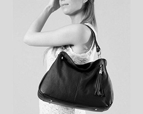 paris sac paris a main sac main sac main à Italie femme Coloris femme sac Gris sac cuir Sac paris sac a cuir Plusieurs cuir paris cuir cuir Paris Foncé sac a main 01xqf