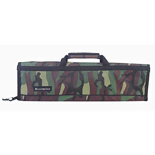 Messermeister 8 Pocket Knife Roll, Camouflage ()