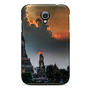 Brand New S4 Defender Case For Galaxy (beautiful Cloud Over Asian Temple Hdr)