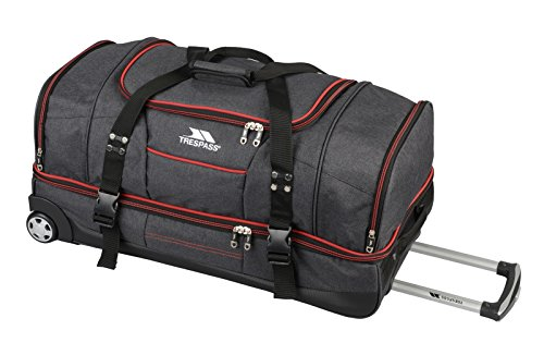 Trespass Galaxy Rolling Duffle Wheeled Travel / Sports Bag (82cm) (82cm,...