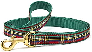 """product image for Up Country Christmas Sparkle Plaid Dog Leash 4' x 1"""""""
