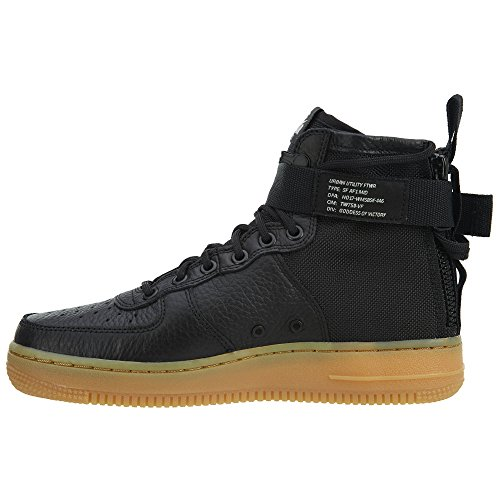 Nike W Grey Black Black Vast gum Vast AF1 SF Mid Light Grey Brown 11zqrwFd