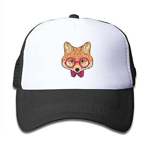 POINIU Pink Sunglasses Fox Cartoon Baseball Cap Kid Mesh Hat For Boys Girls Ridiculous Youth Hip Hop Cool Adjustable Snapback Trucker Plain Flat Hats For Neo-Jazz,Street - Sunglasses Ridiculous