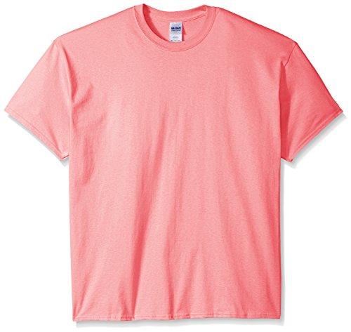 safety T Gildan Courtes Manches À shirt Homme Pink Rose n00adqrwCx