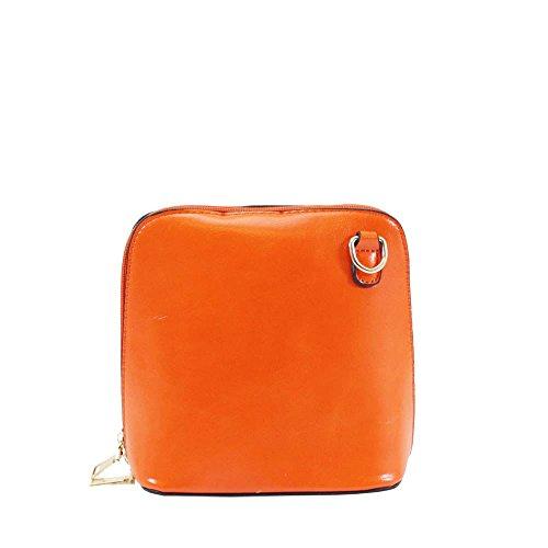 gris pour Hautefordiva femme bandoulière Orange Sac petit wOqq0EUa