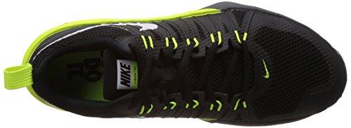 Nike Lunar TR1 - Zapatillas para deportes de interior de material sintético para hombre - negro, amarillo neón