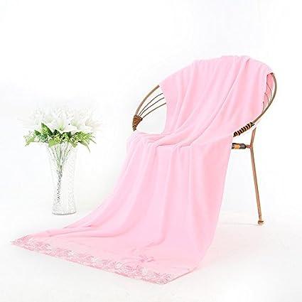 La toalla toalla gruesa puntilla Puntilla intensifique pro-suave piel absorber agua mejor adulto pecho