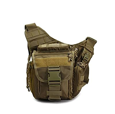 Klau Sport Outdoor Military Shoulder Bag Multi-functional Tactical Messenger Bag