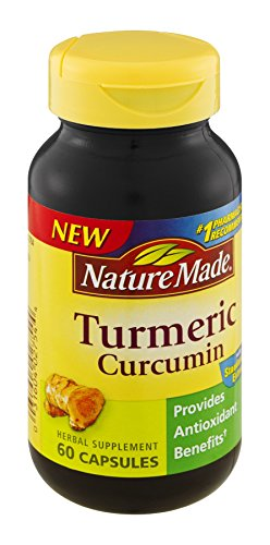 3 Pack of Nature Made Tumeric Capsules 500 Mg, 60ct (180 Ct Total)