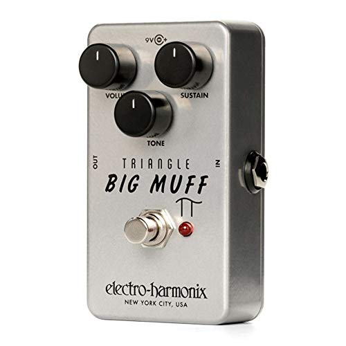 Electro Harmonix Triangle Big Muff Overdrive Pedal (Best Big Muff Pedal)