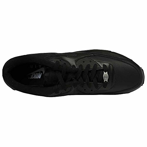 NIKE Air Max 90 Leather Scarpe da ginnastica, Uomo Noir