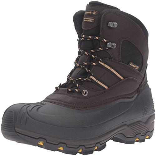 Kamik Mens Warrior2 Snö Boot Mörkbrun