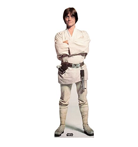 Skywalker Poster - Advanced Graphics Luke Skywalker Life Size Cardboard Cutout Standup - Star Wars Classics (IV - VI)