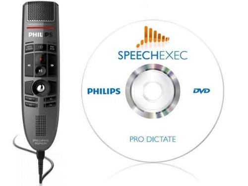 Philips LFH-3500 SpeechMike Premium with SpeechExec Pro Dictate Dictation Software