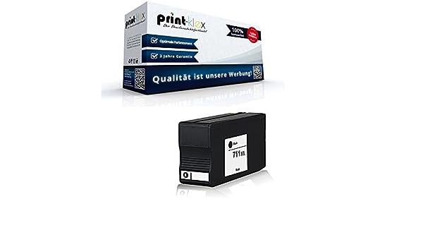 Cartucho de tinta compatibles para HP Designjet T120 T520 T520 24inch cz129 a 711 Black Negro – Color Office Serie: Amazon.es: Oficina y papelería