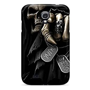 Best Hard Phone Cases For Samsung Galaxy S4 (zUz18687KukP) Provide Private Custom Colorful Grim Reaper Image
