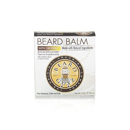 Beard Guyz Coarse Beard Balm, 3 Ounce (Beard Gs)