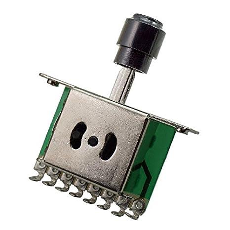 TOOGOO (R) 3 way Selector Switches, guitarra Pickup Toggle Interruptores de palanca para Tele ST Guitarra eléctrica: Amazon.es: Instrumentos musicales