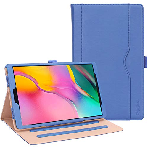 ProCase Galaxy Tab A 10.1 2019 Case T510 T515 - Stand Folio Case Cover for Galaxy Tab A 10.1 Inch Tablet Model SM-T510 SM-T515 2019 Release -Navy (10.1 Book Cover)