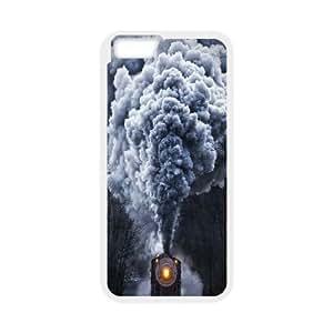 IPhone 6 Plus Cases Cruising Train, Railway [White]