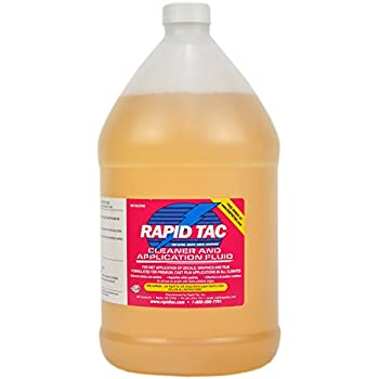 Rapid Tac Application Fluid for Vinyl Wraps Decals Stickers 128 Ounce / 1 Gallon