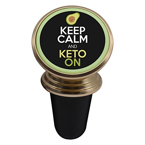 Price comparison product image Keep Calm and Keto On Avocado Magnetic Stand Holder Mobile Phone Bracket Cellphone Car Mount Holder For Smartphone