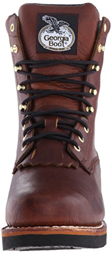 Georgia Boot Mens Lacer Work Shoe Barracuda Walnut 4U8TKyKBbg