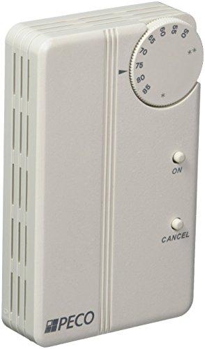 Peco SP155-027 Trane Compatible Zone Sensor, White by PECO