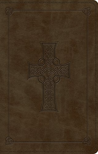 ESV Premium Gift Bible (TruTone, Olive, Celtic Cross Design) (Celtic Esv Bible Cross)