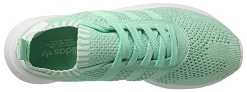 Green Vert Turquoise Femme easy White Flashback Taille Primeknit Unique Green Adidas footwear Sneakers Basses easy Zanqv