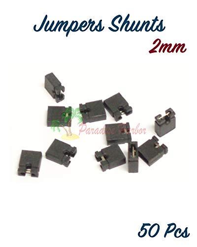 (BDHardwareHouse 50 Pcs Micro 2mm Jumpers Shunt SCSI Laptop Jumper shunts )