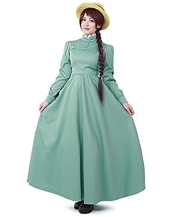 Miccostumes Women's Howl's Moving Castle Sophie Hatter Cosplay costume (women s)