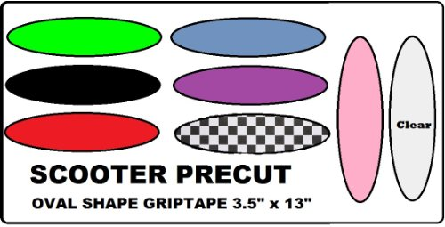 Scooter Replacement Griptape Oval Shape 3.5