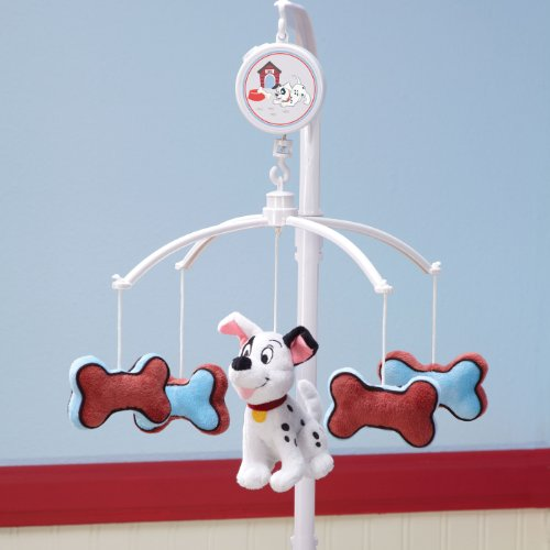 Disney 101 Dalmatians Baby Crib Musical Mobile (Dog Mobile compare prices)