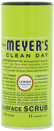 Mrs. Meyer's Clean Day Surface Scrub, Lemon Verbena, 11 Ounc