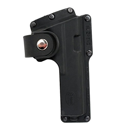 Fobus Roto Tactical Speed Holster Paddle RH GLT19RP Glock 19,23,32 / S&W 99 Compact/ M&P Compact holds Handgun with Laser or Light