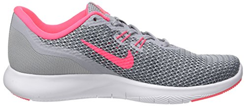 Nike Donna Grey Wolf 7 Flex Pink Scarpe Trainer Multicolore Racer Running stealth wpFAq7xp