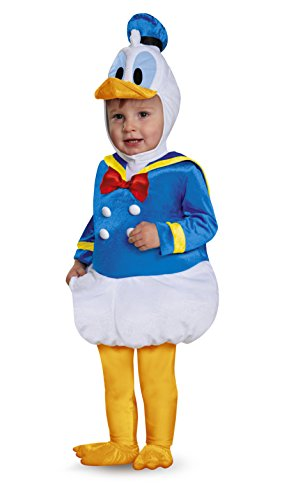 Disguise Baby Boys' Donald Duck Prestige Infant Costume, Blue, 12-18 Months