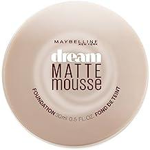 Maybelline Dream Matte Mousse Foundation, Natural Beige, 0.64 fl. oz.